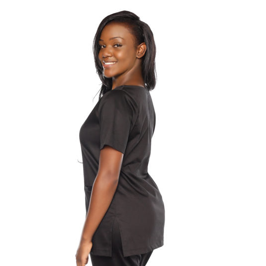Round Neck Scrub Top