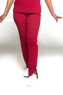 Turtleneck Scrub Pants (Red)