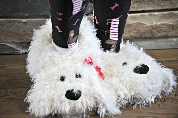 Puppy Love Slippers-Shoes-S/M-Southern Comfort Boutique
