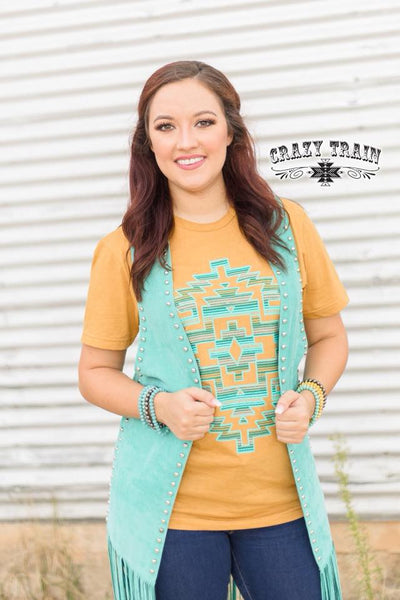Monterrey Tee-Tops-Small-Southern Comfort Boutique