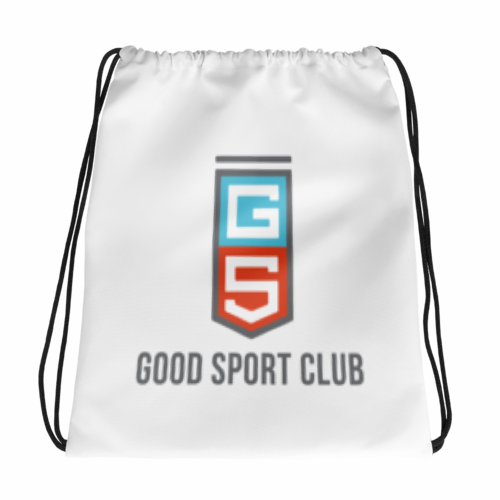 Sporty Style Drawstring bag-Good Sport Club
