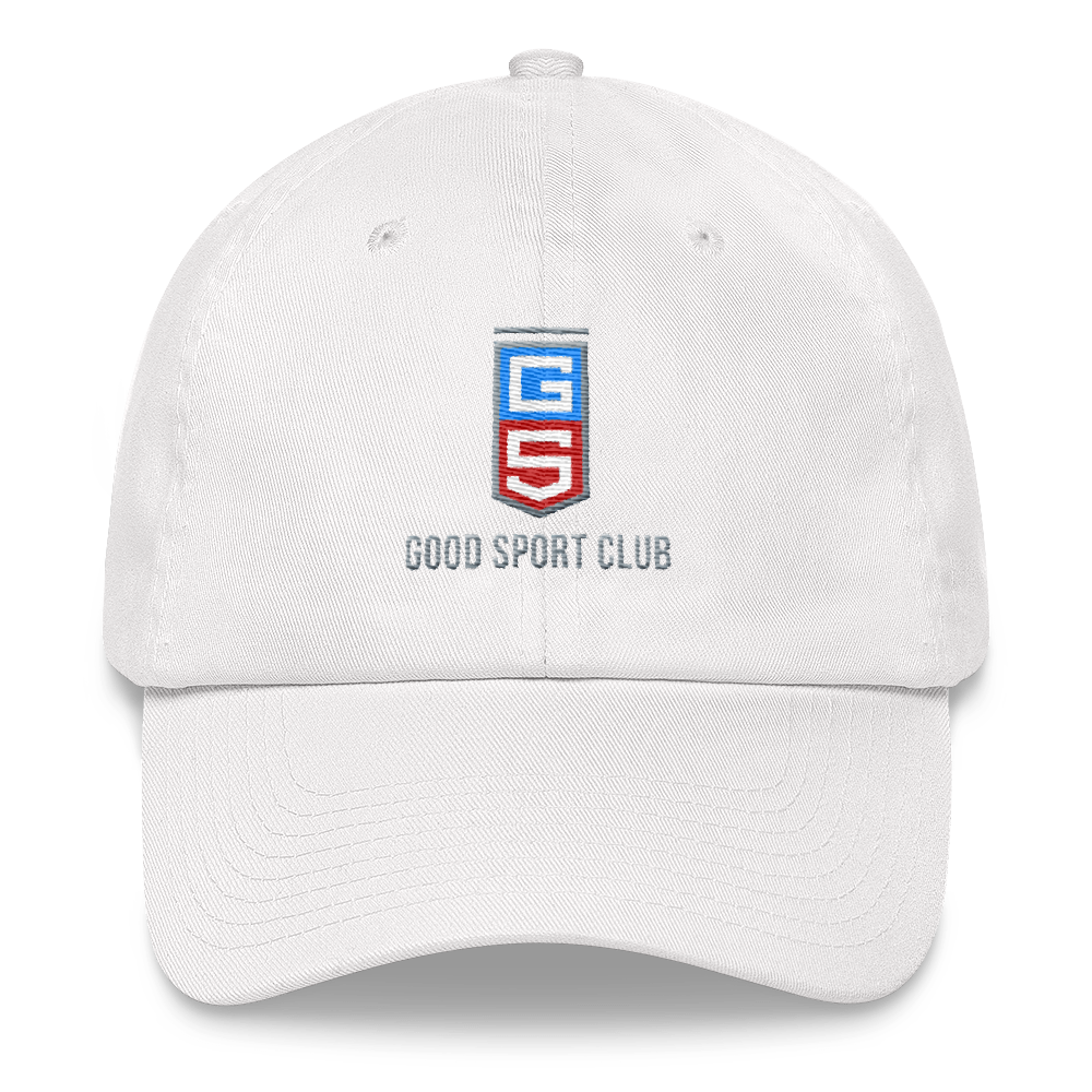 White Dad hat-Good Sport Club