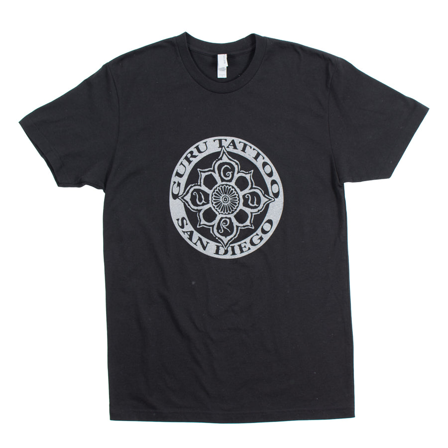 Circle Logo Men's Shirt (Black/Grey)