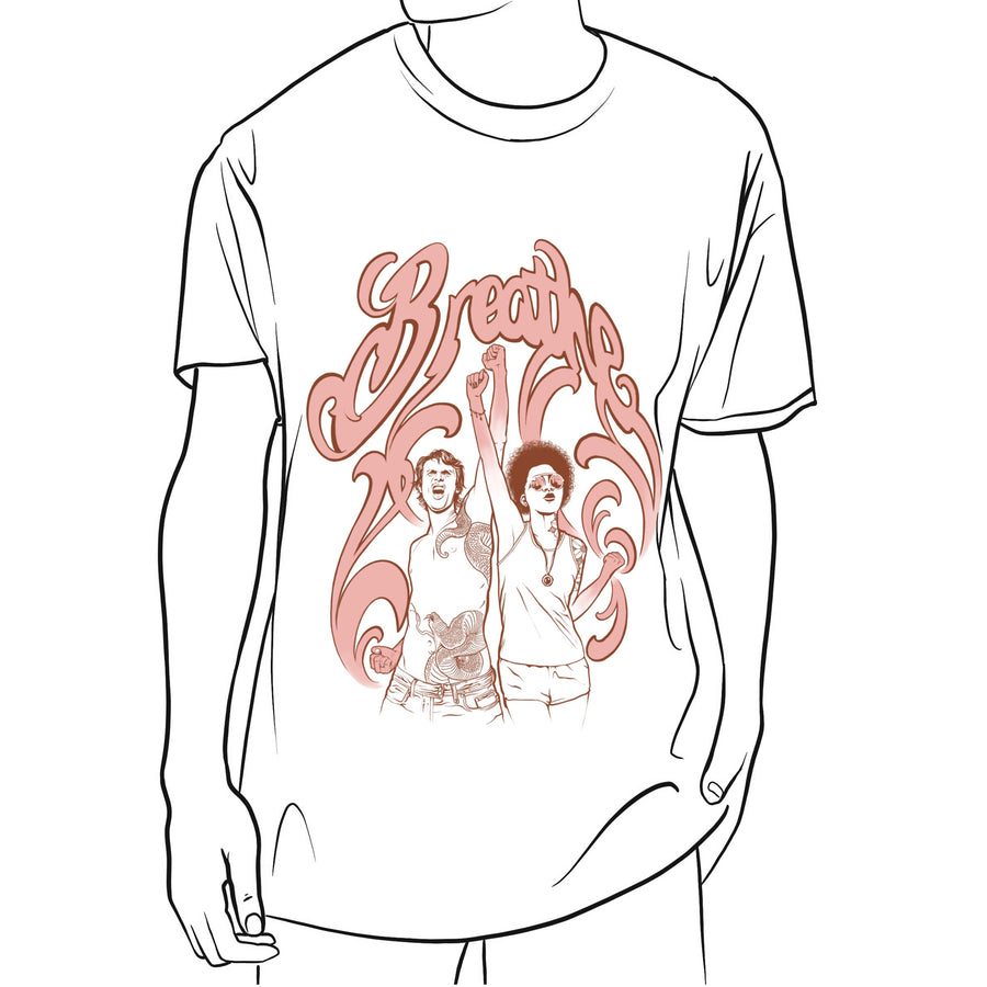 """Breathe"" Men's T-shirt by Aaron Della Vedova"