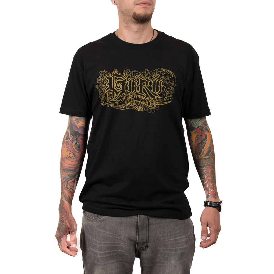 Dickinson Guru Logo Men's Shirt (Black/Gold)