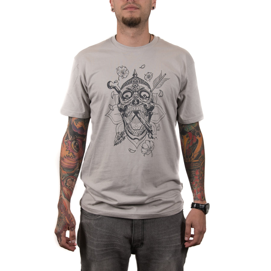 Dickinson Kapala Skull Men's Shirt (Sil/Grey)