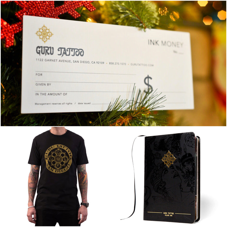 Ink Money Bundle - Gift Certificate, Book & T-shirt