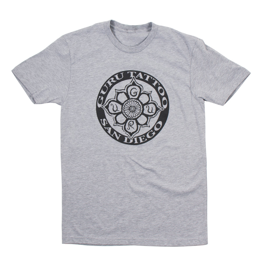 Circle Logo Men's Shirt (Grey)