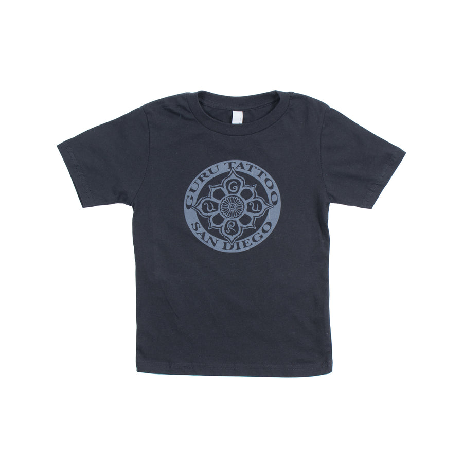 Circle Logo Youth Shirt (Black)
