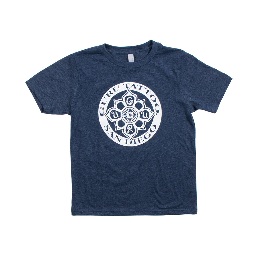 Circle Logo Youth Shirt (Navy)