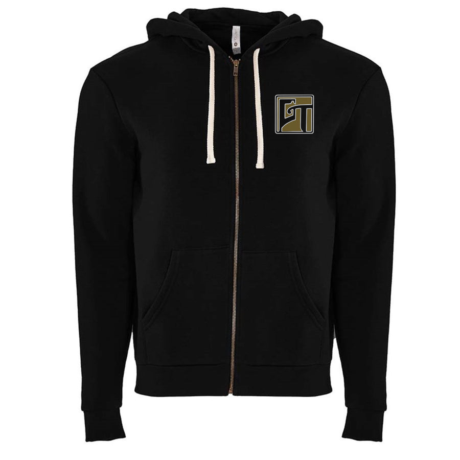Making Friends Zip-up (Black/Cream)
