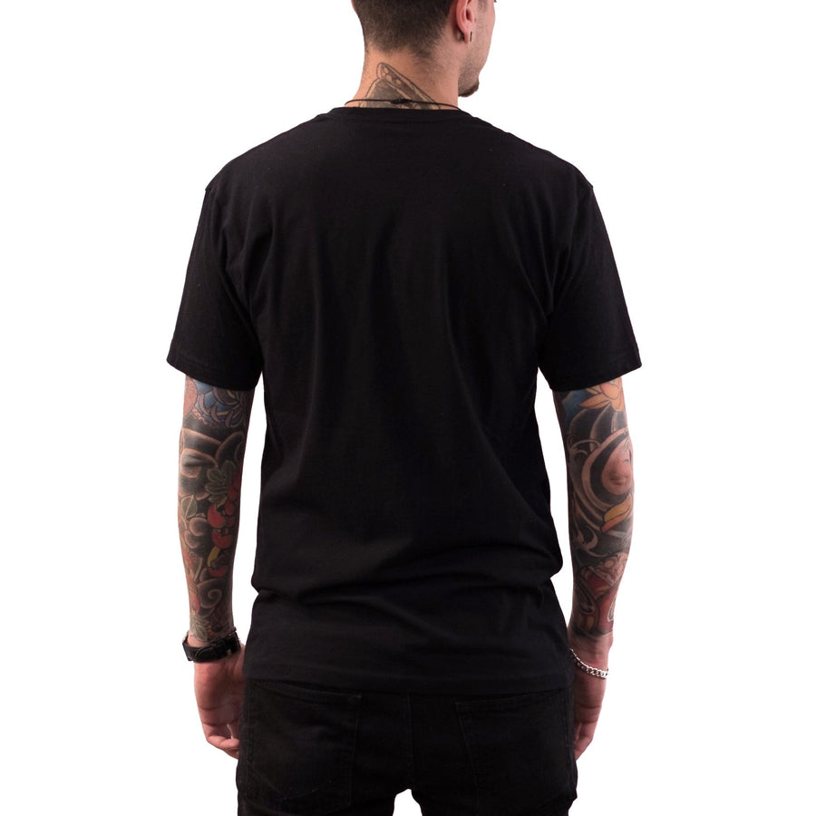 Circle Logo Men's Shirt (Black/Gold)