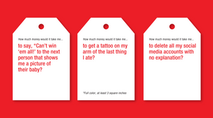 How Much Money Would It Take You Pricetitution Card Game AS SEEN ON Shark Tank