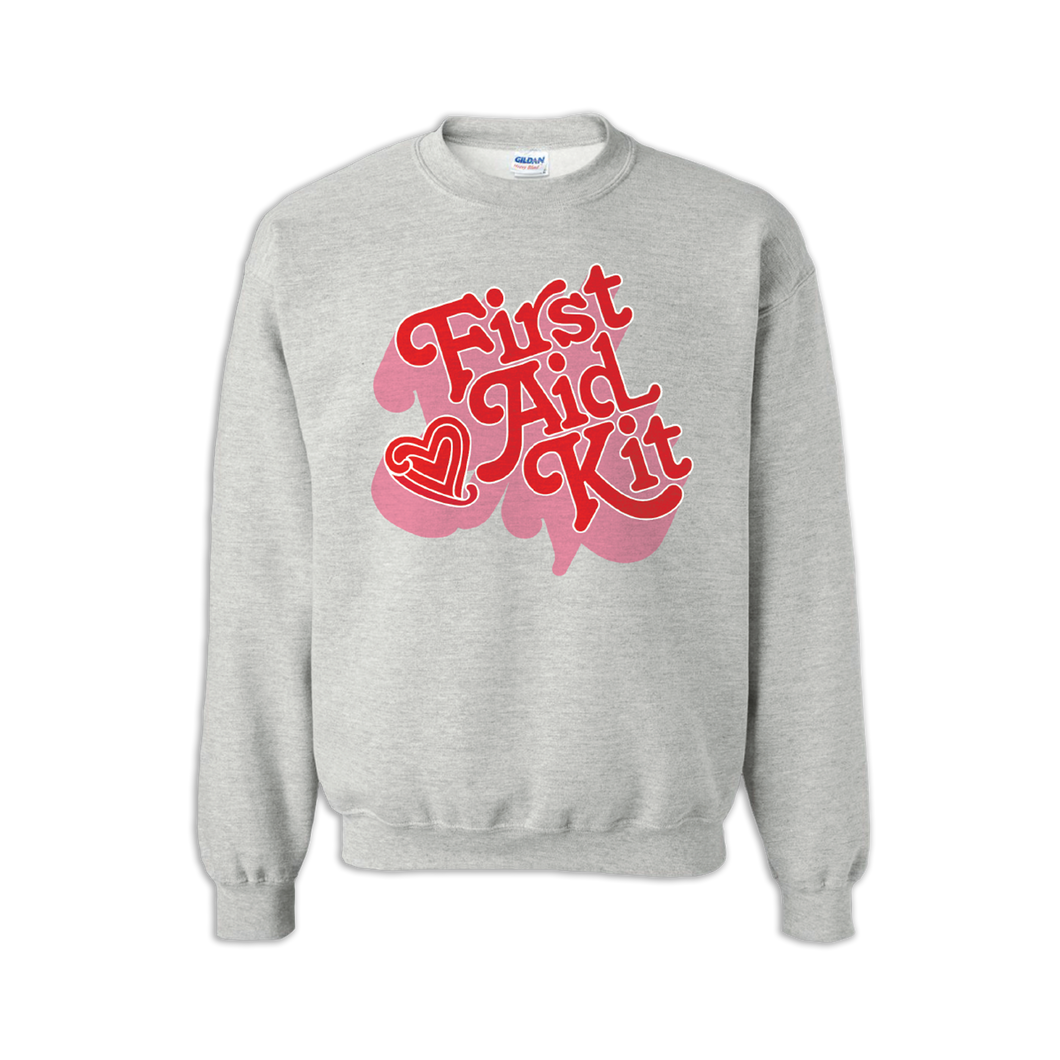 Pink Shaded Logo Sweatshirt