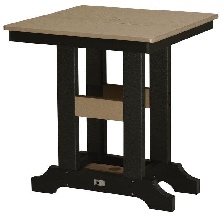 "Berlin Gardens Garden Classic 28"" Square Table - Counter Height"