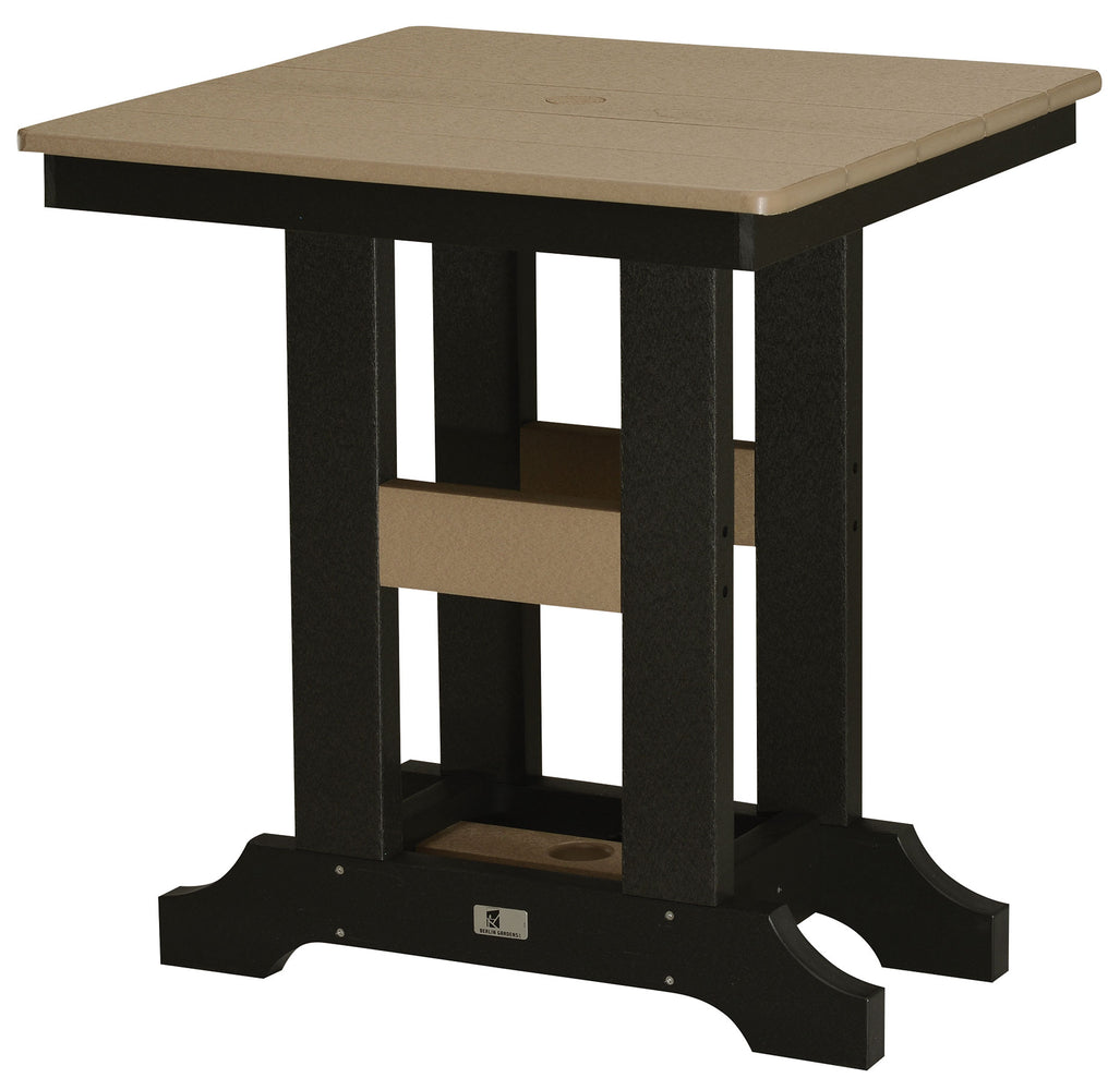 "Berlin Gardens Garden Classic 28"" Square Table - Bar Height"