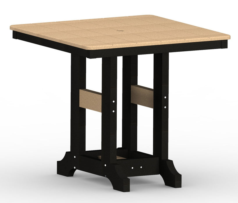 "Berlin Gardens Garden Classic 33"" Square Table - Dining Height"