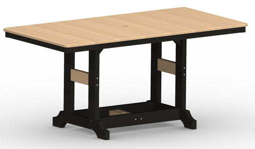 "Berlin Gardens Garden Classic 33"" x 66"" Rectangle Table - Dining Height"