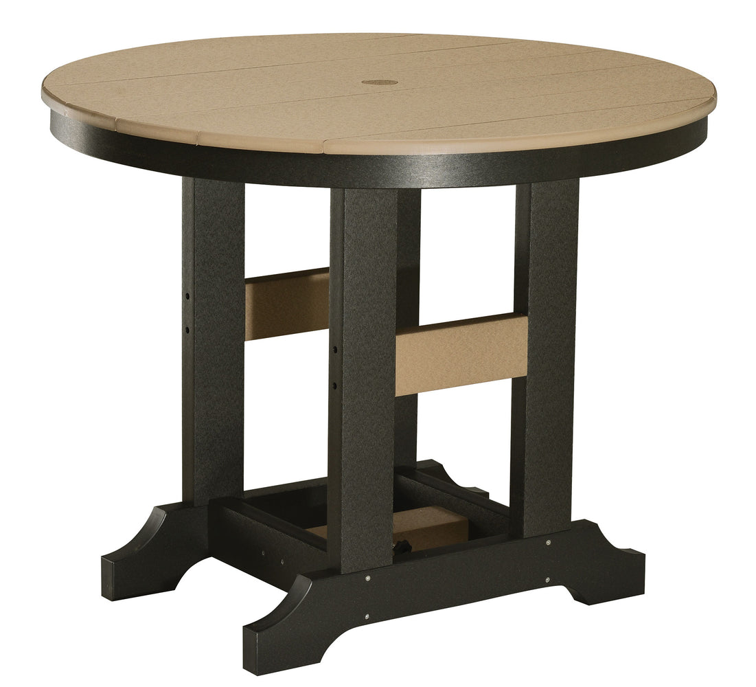 "Berlin Gardens Garden Classic 38"" Round Table - Bar Height"