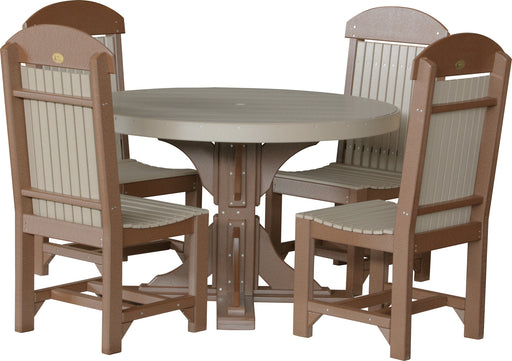 LuxCraft 4' Round Table Set #1