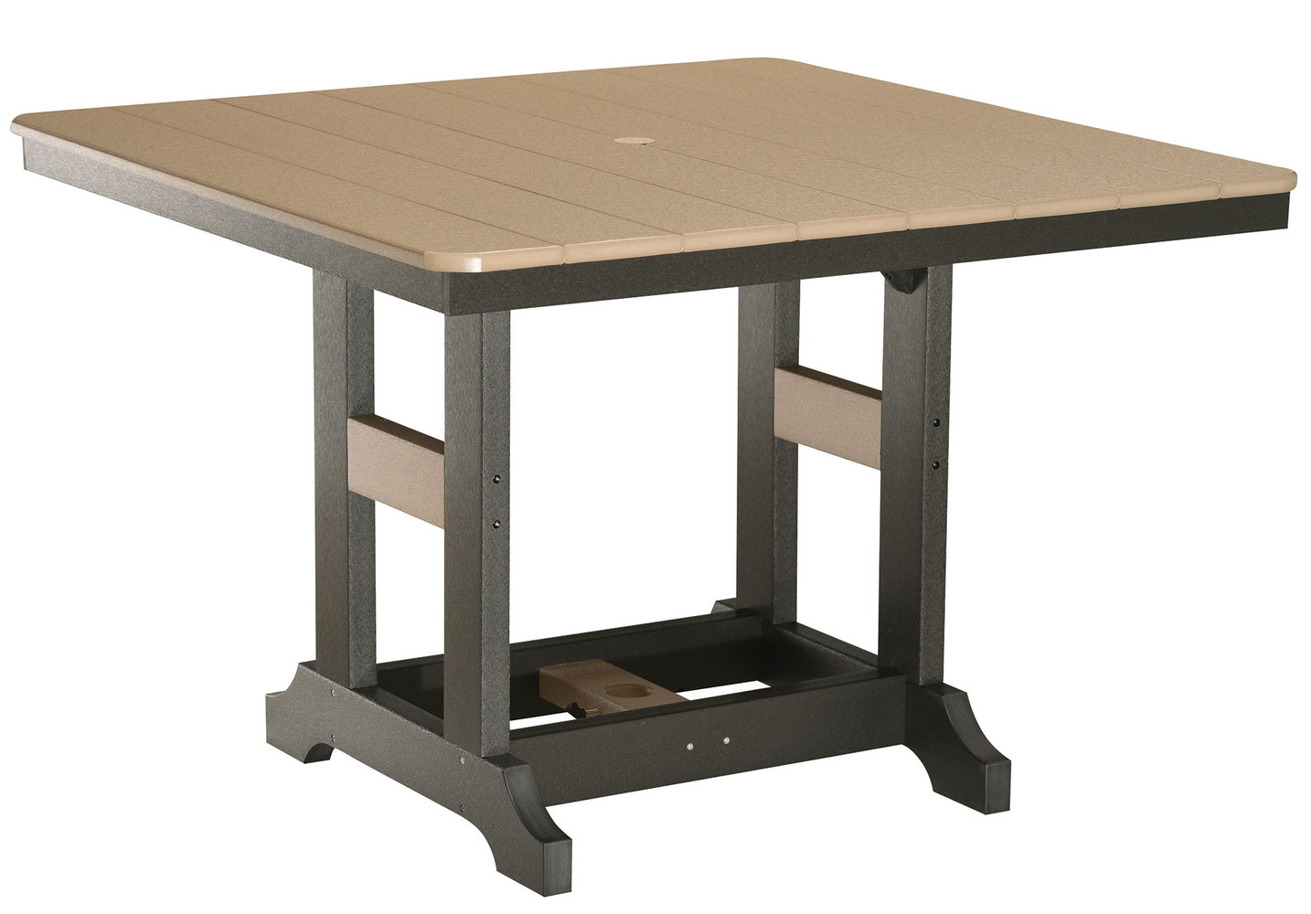"Berlin Gardens Garden Classic 44"" Square Table - Dining Height"