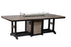"Berlin Gardens Garden Classic 44"" x 96"" Rectangular Fire Table - Bar Height"