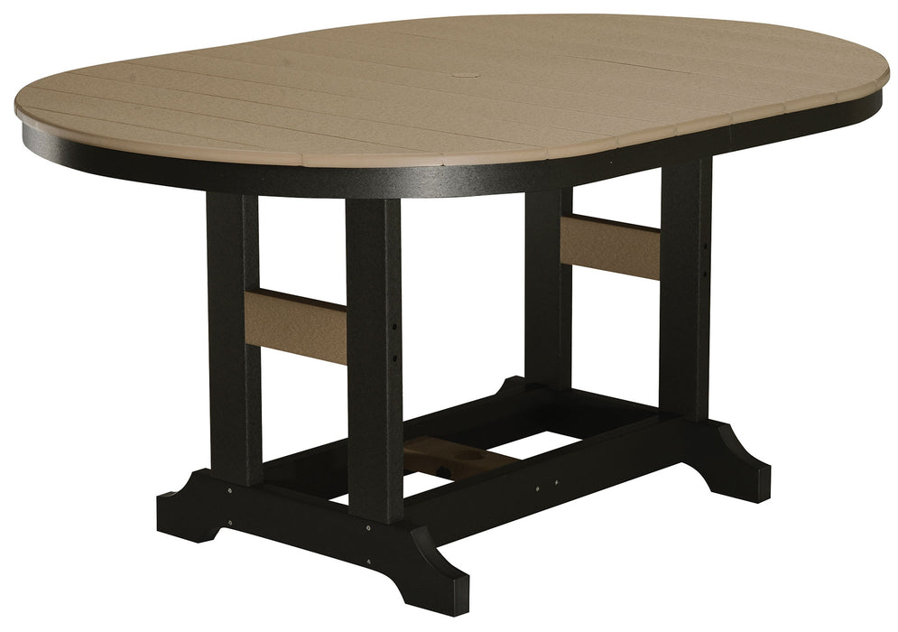 "Berlin Gardens Garden Classic 44"" x 64"" Oblong Table - Counter Height"