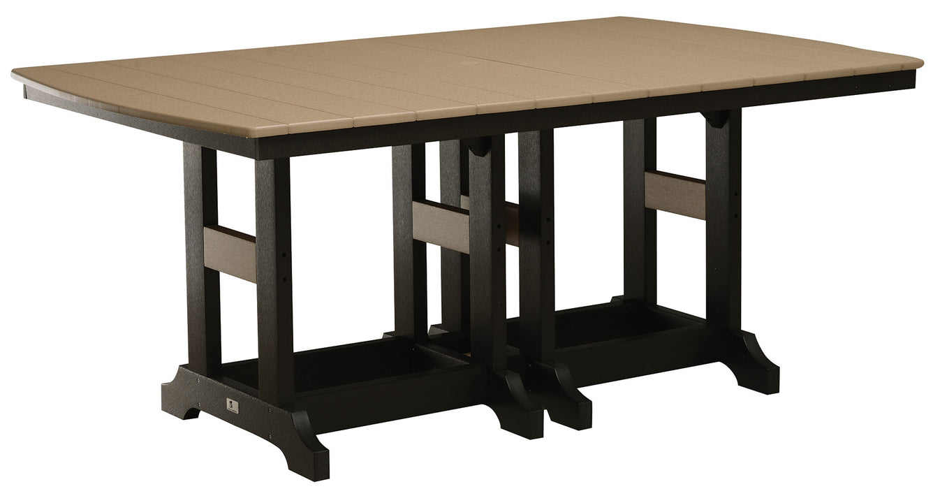"Berlin Gardens Garden Classic 44"" x 72"" Rectangular Table - Counter Height"