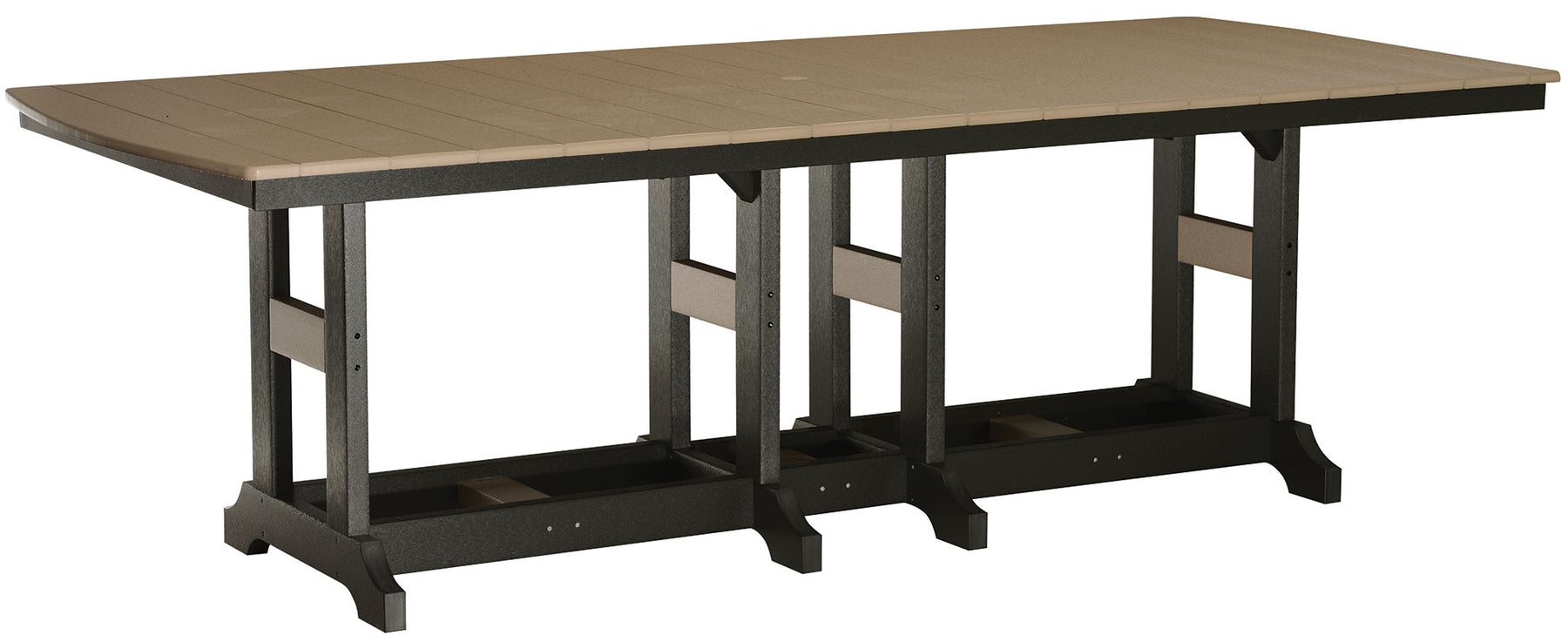 "Berlin Gardens Garden Classic 44"" x 96"" Rectangular Table - Dining Height"