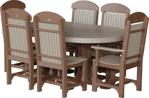 LuxCraft 4' x 6' Oval Table Set #2