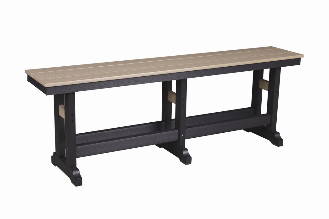 "Berlin Gardens Garden Classic 66"" Counter Bench"