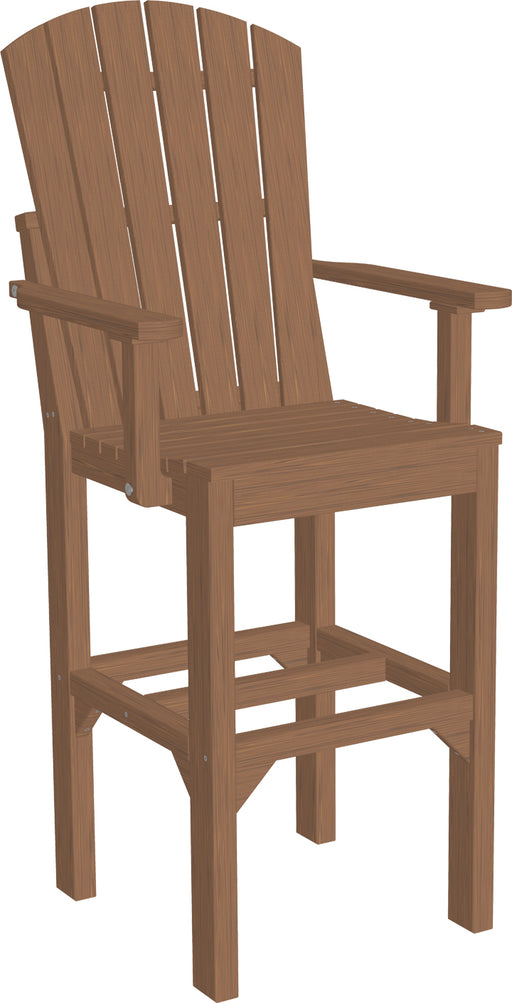 LuxCraft Adirondack Arm Chair - Bar Height