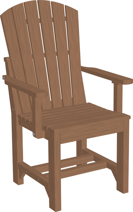 LuxCraft Adirondack Arm Chair - Dining Height