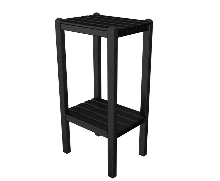 Polywood® Two Shelf Bar Side Table