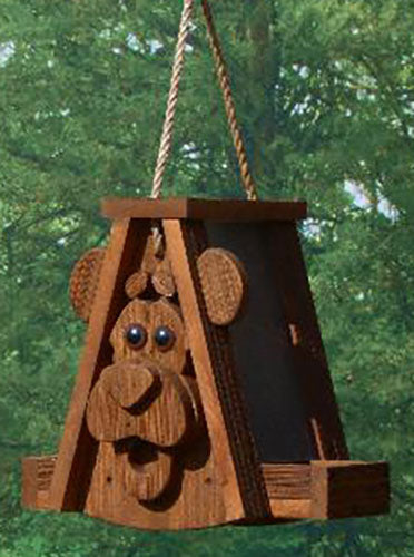 Twin Oaks Cartoon Feeder - Bear