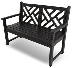 "Polywood Chippendale 48"" Bench"