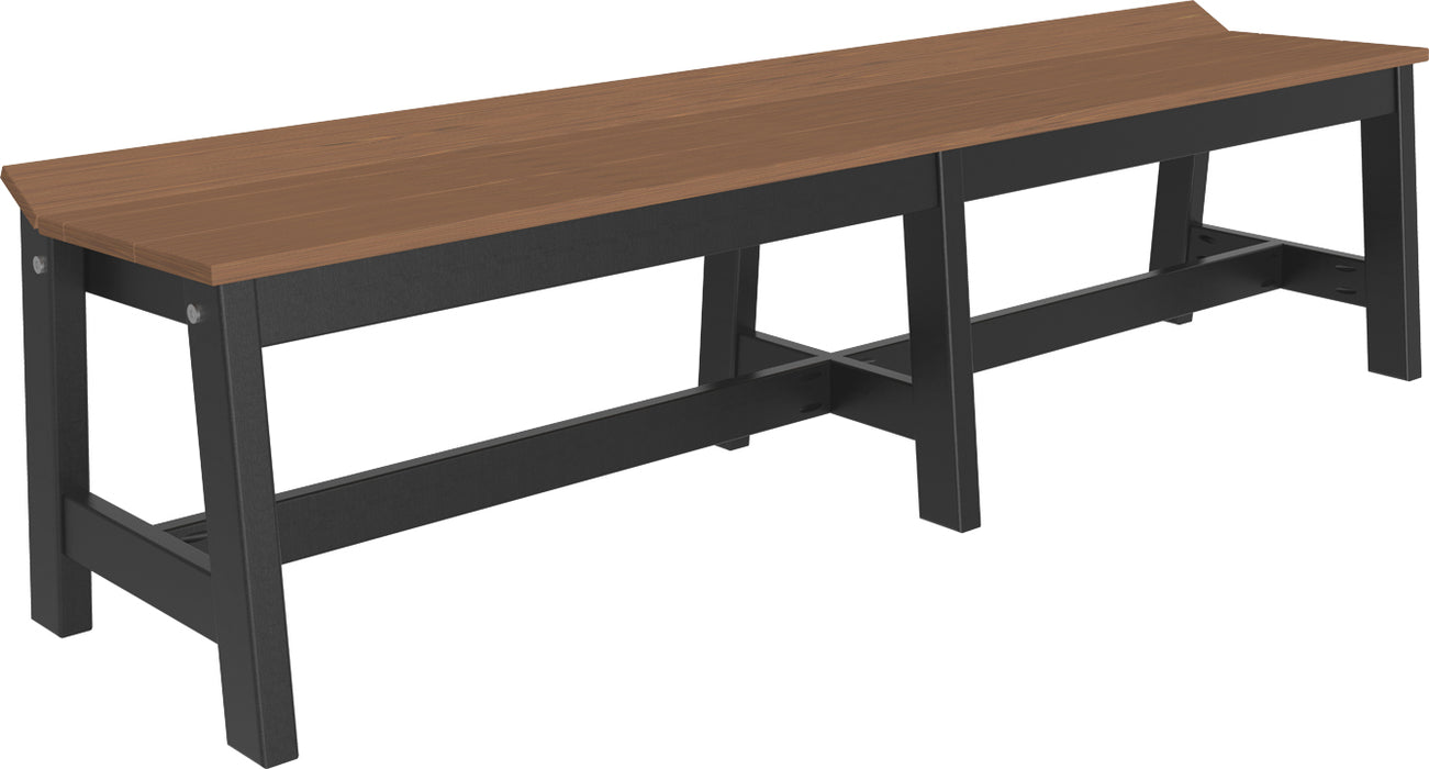 "LuxCraft 72"" Cafe Dining Bench"