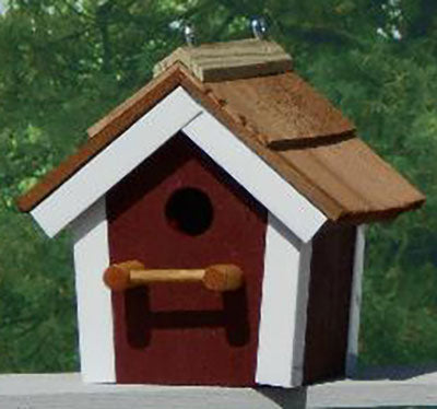 Twin Oaks Cedar Roof Birdhouse
