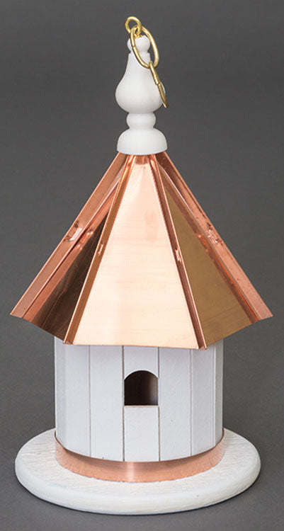Twin Oaks Copper Roof Wren Lo Birdhouse