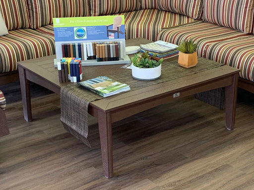 Berlin Gardens Classic Terrace Square Coffee Table (Local Delivery Only)