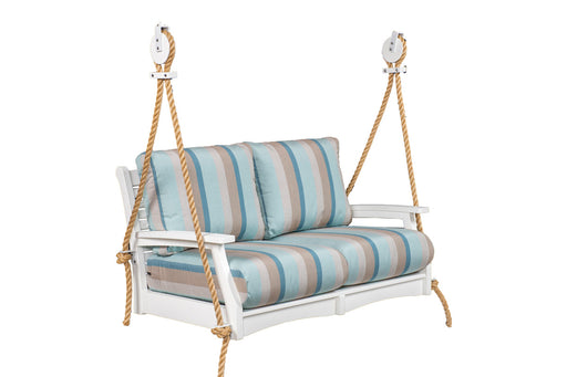 Berlin Gardens Classic Terrace Loveseat Swing