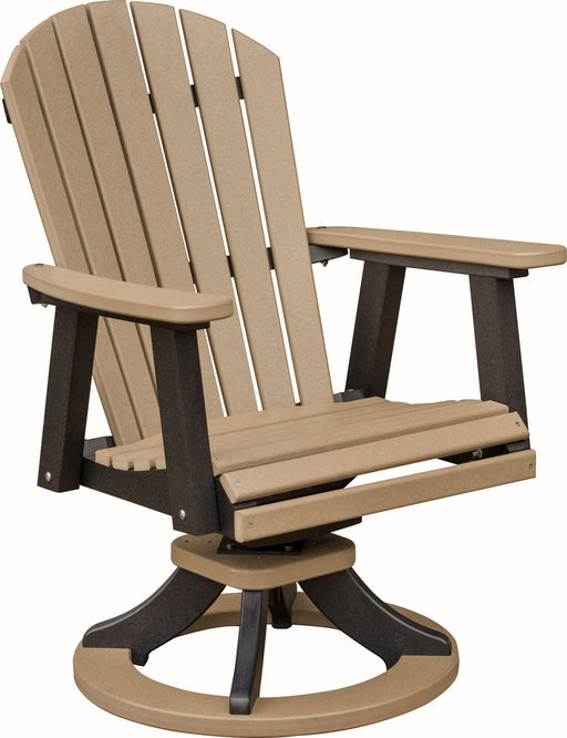 Berlin Gardens Comfo-Back Swivel Rocker Dining Chair