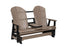 Berlin Gardens Comfo-Back Three Seat Glider with Console