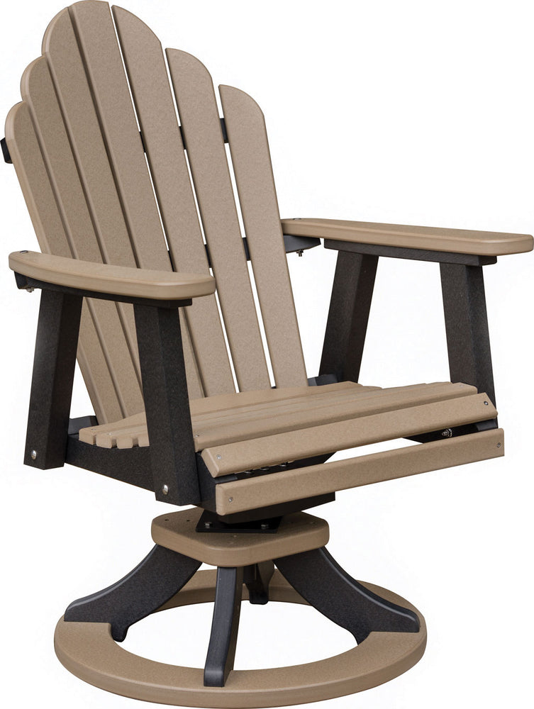 Berlin Gardens Cozi-Back Swivel Rocker Dining Chair