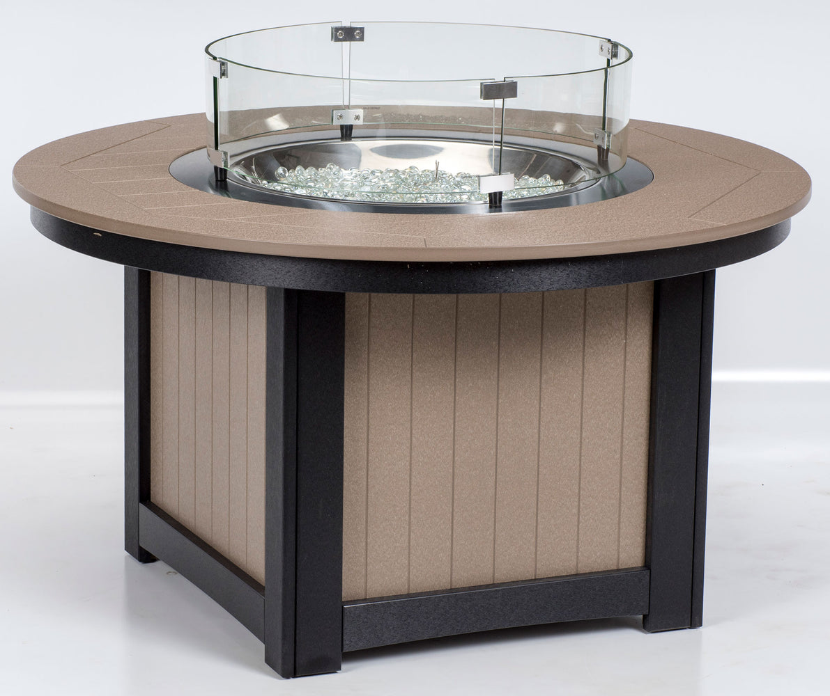Berlin Gardens Donoma Fire Pit with Poly Top