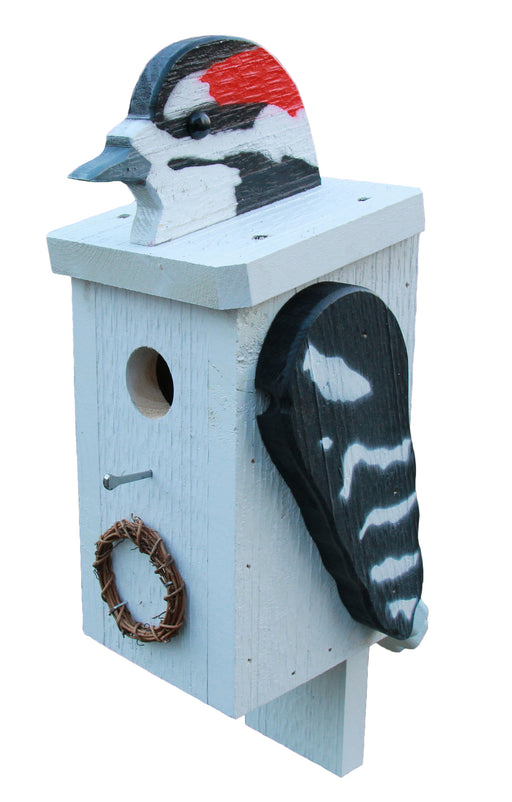 Birdhouse - Downy Woodpecker