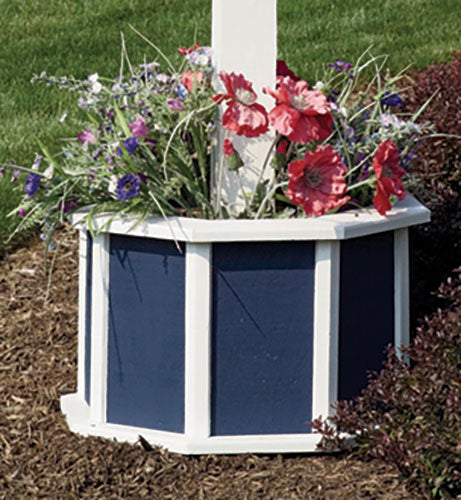 Twin Oaks Flower Box / Post Combo