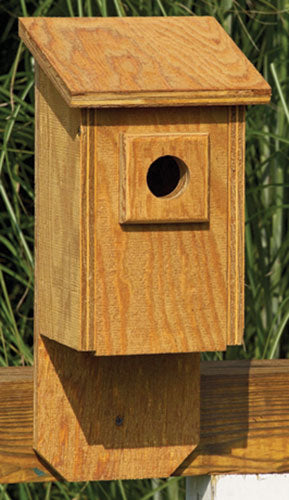 Twin Oaks Flip Front Birdhouse