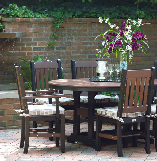 "Berlin Gardens 44"" x 64"" Garden Classic Oblong Table Set"
