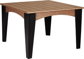 """LuxCraft Island Dining Table (44"""" Square)"""